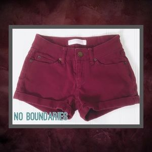 🌸 No Boundaries Denim Shorts